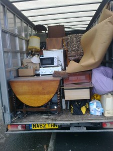 Second load of van